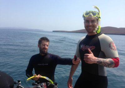 DIMX dive guests