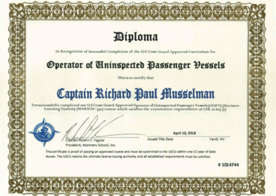 captain papers