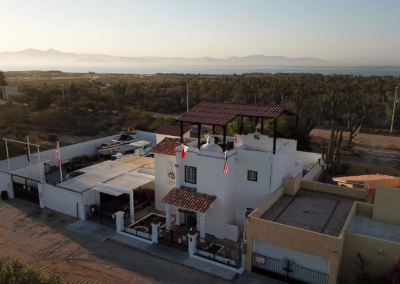 Divers Inn MX has views of La Paz and the Sea of Cortez